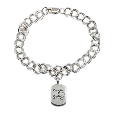 Unique Cremation Charm Bracelet III