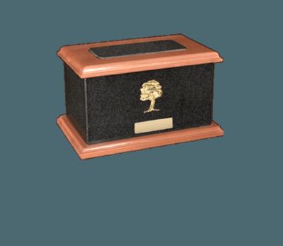 United Nero Absoluto Cremation Urn