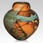 Universe Glass Cremation Urn