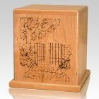 Heaven Gate Cherry Cremation Urn
