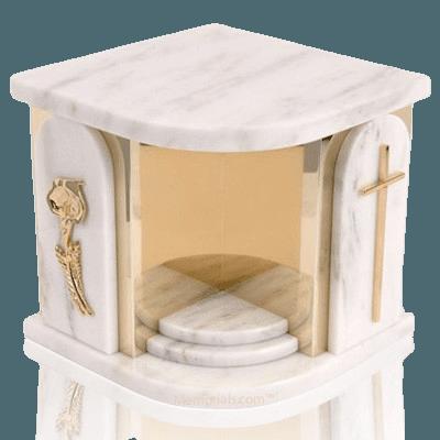 White Church Companion Urns