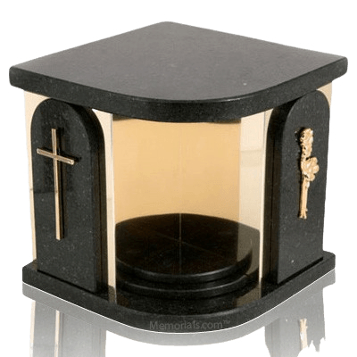 Black Church Companion Urn