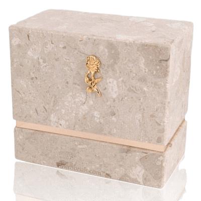 La Nostra Perlato Marble Companion Urn