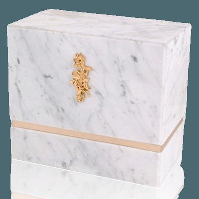 La Nostra Bianco Carrera Companion Urns