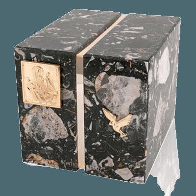 Foresta Cambrian Black Granite Companion Urn