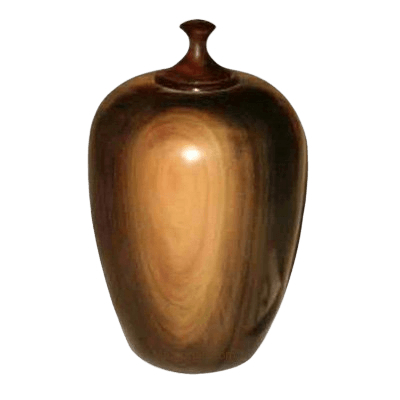Water Wood Cremation Urn