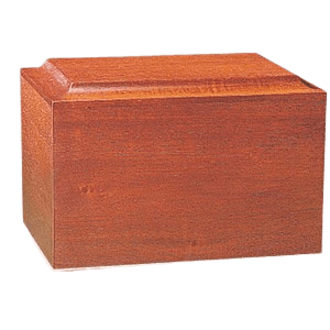 Minimalist Wood Cremation Urn