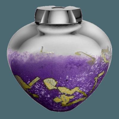 Valensole Glass Cremation Urn