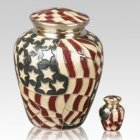 Star Spangled Cremation Urns
