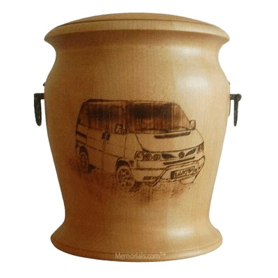 Van Wood Cremation Urn