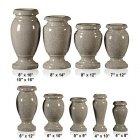 Dark Gray Granite Vase