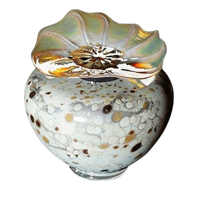 Milano Chartreuse Glass Cremation Urn