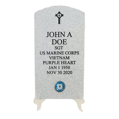 Veteran Stone Coast Guard Keepsake Urn