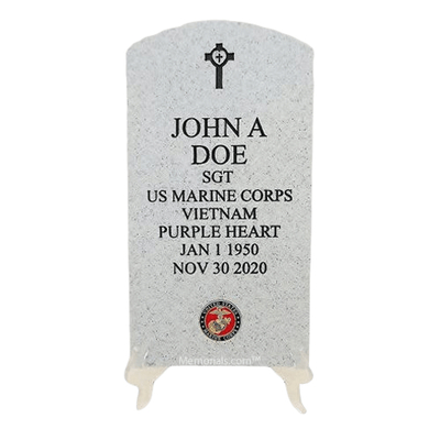 Veteran Stone Marine Keepsake Urn