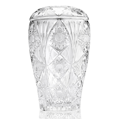 Victorian Glass Cremation Urn