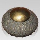 Victorian Ivy Ceramic Cremation Urn
