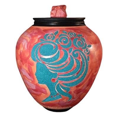 Victorian Nature Cremation Urn