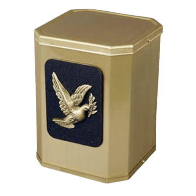 Victorious Modern Dove Urn