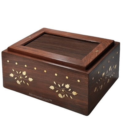 Vine Wood Child Cremation Urn