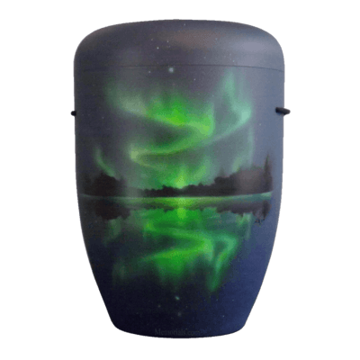 Northern Lights Biodegradable Urn