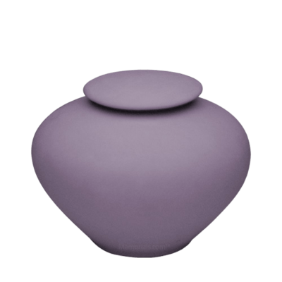 Violet Ray Porcelain Clay Urn