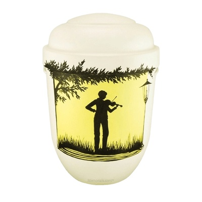 Violinist Biodegradable Urn
