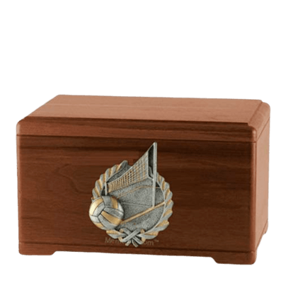 Volleyball Fan Cremation Urns