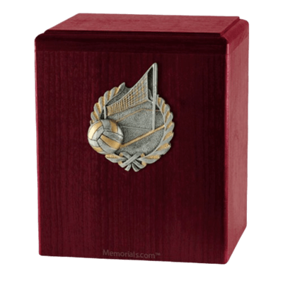 Volleyball Roswood Cremation Urn