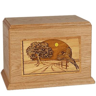Winding Road Oak Companion Urn