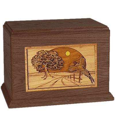 Winding Road Walnut Companion Urn