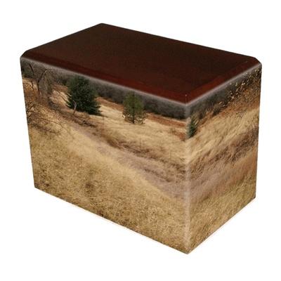 Hunting Grounds Walnut Child Cremation Urn II
