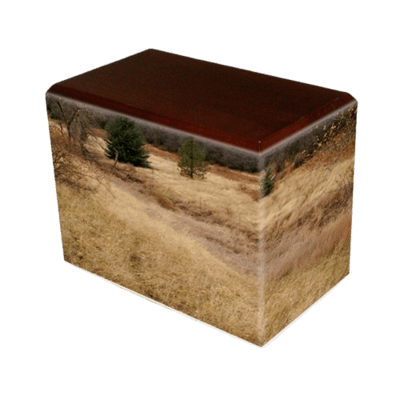 Hunting Grounds Walnut Child Cremation Urn
