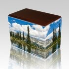 Pine Lake Walnut Child Cremation Urn