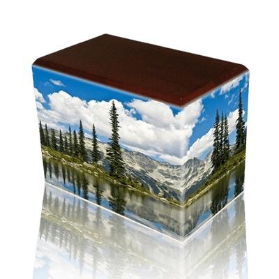 Pine Lake Walnut Child Cremation Urn
