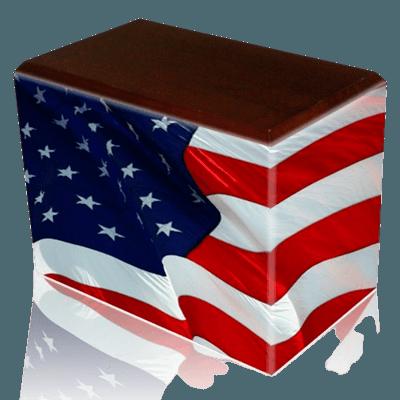 Patriotic Child Cremation Urns II