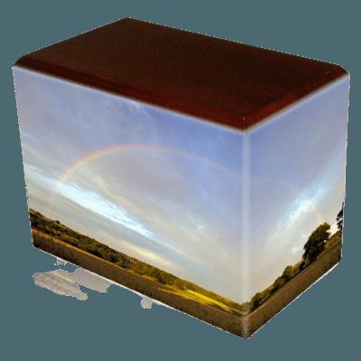 Rainbow Child Cremation Urns II