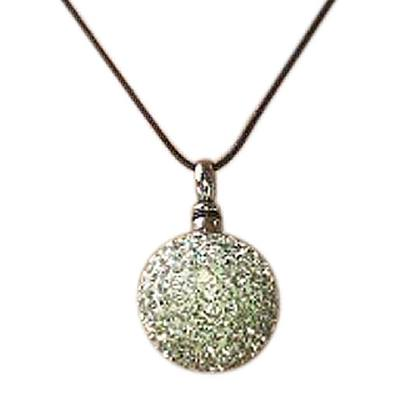 Crystal Ball Cremation Jewelry