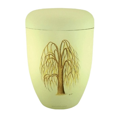 Weide Tree White Biodegradable Urn