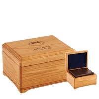 Westhampton Oak Wood Cremation Urns