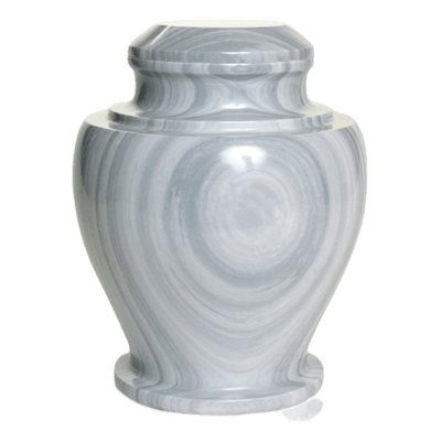Whirlpool Marble Cremation Urn