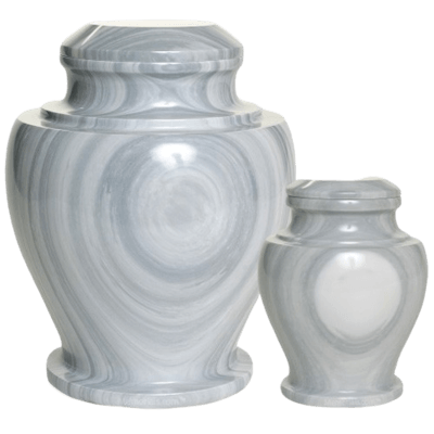 Whirlpool Marble Cremation Urns