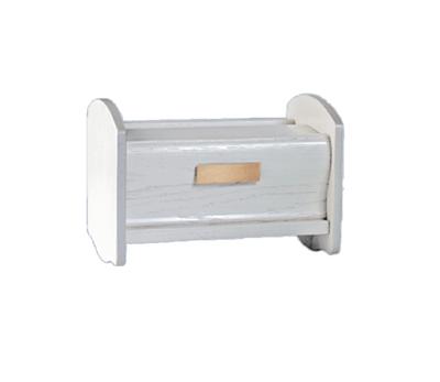 White Cradle Cremation Urn
