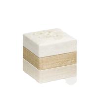 White Hemp Small Biodegradable Urn
