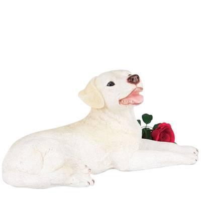 Yellow Lab Dog Cremation Urn