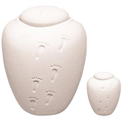 White Sand Biodegradable Urns