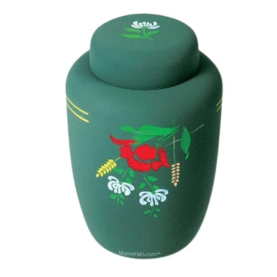 Wildflowers Cornstarch Biodegradable Urn