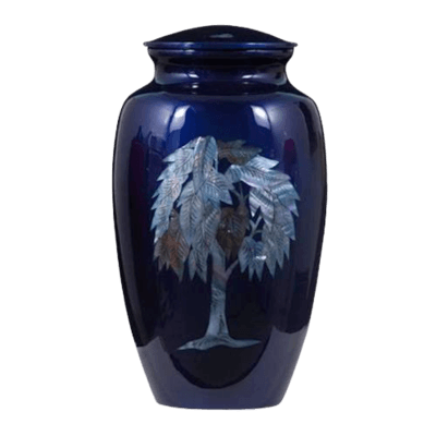 Willow Metal Cremation Urn