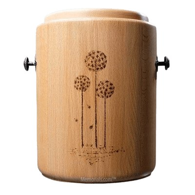 Wish Wood Cremation Urn