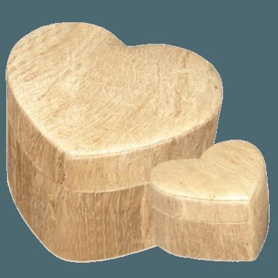 Wood Grain Unity Biodegradable Urns