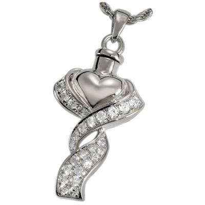 Wrapped in Love Cremation Pendant III